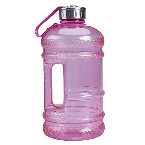 hgkl Botellas de Agua Portátil 2.2L BPA Libre de plástico Grande Capacidad Grande Gimnasio Deportes Deportes Botella de Agua Picnic al Aire Libre Bicicleta Bicicleta Camping Ciclismo Hervidor
