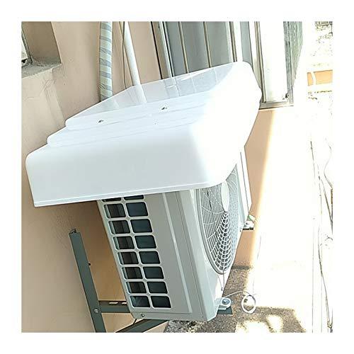 LSXIAO Cubierta De Aire Acondicionado con 2 Cables De Acero, Impermeable Anti-Nieve A Prueba De Polvo para La Unidad De Aire Acondicionado De Ventana Exterior Mini Sistema Split