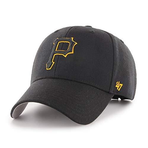 47 Pittsburgh Pirates Gorra, (Talla del Fabricante: Talla única) Unisex Adulto