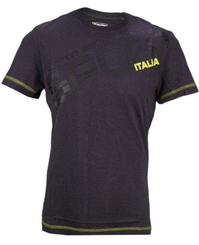 Lotto Sport Shane T-Shirt à Manches Courtes pour Homme Noir Noir m