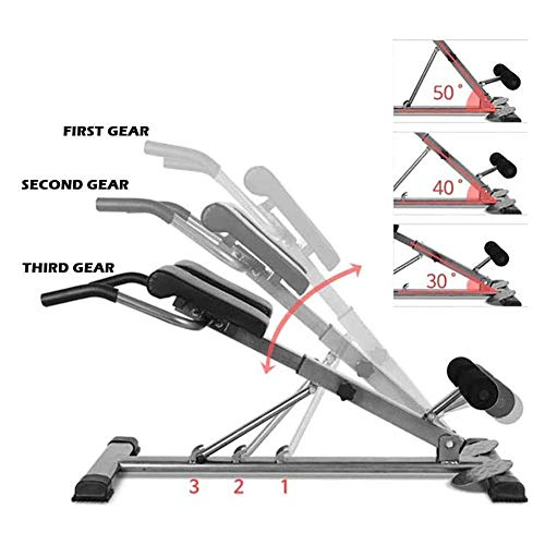 Product Image 4: SHKY Multifunctional Back Hyperextension Bench, Home Fitness Equipment Benches, for Strengthening Abs, Strength Training Workout Fitness Equipment,A