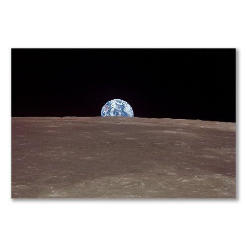 Poster stampa artistica: Earthrise Apollo 111969colore (a) (A3Maxi–29.4x 43.8cm/11.6x 17.2in, carta satinata semi-lucida)