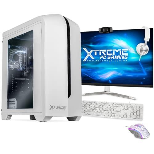 Xtreme PC Intel Core I5 10400 8GB SSD Monitor 23.8 Camara Web WiFi White