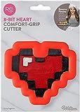 Wilton 2310-3726 8-Bit Heart Cookie Cutter