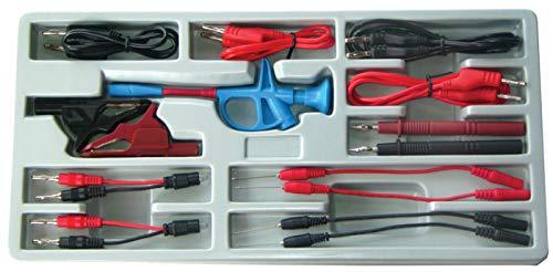 BGS 2185 | Assortiment de câbles de test et accessoires | 15 pièces