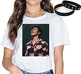 Shawn Mendes Camiseta Pulsera Regalo Concierto Tee Música Moda Pulsera Impresión Dibujos Animados In...