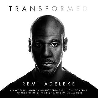 Transformed audiobook cover art