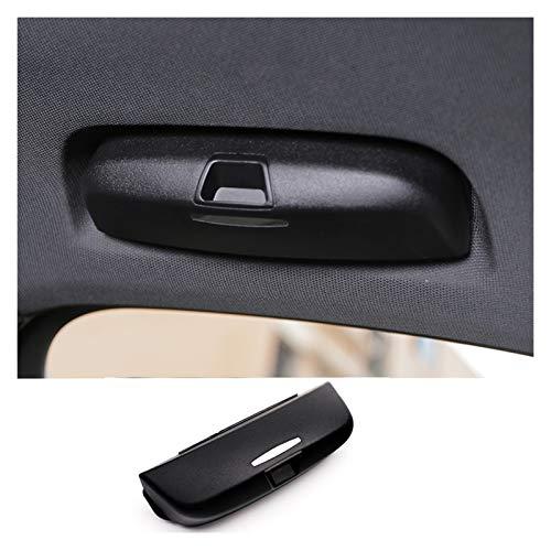 GUANGGUANG Heartwarming Shop Caja de Gafas Negras para el Mango de Techo de automóvil Refit Gafas de Sol Soporte Gafas Caja de Ajuste para Audi A3 8V A4 B8 B9 Q3 Q5 (Color Name : Black)