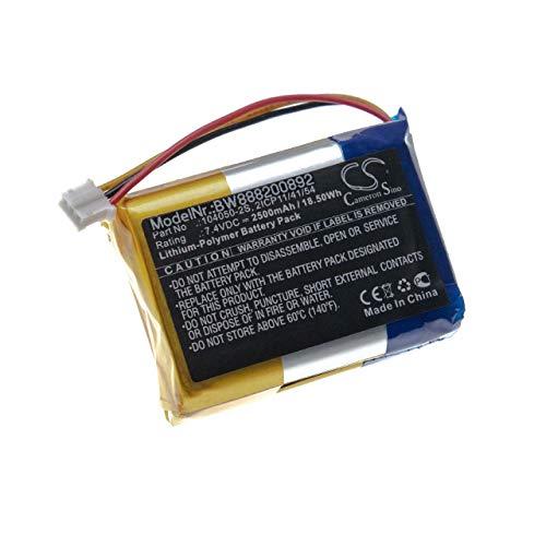 vhbw batería Compatible con Philips Fidelio B5, B5/12 Altavoz Altavoces (2500mAh, 7.4V, polímero de Litio)