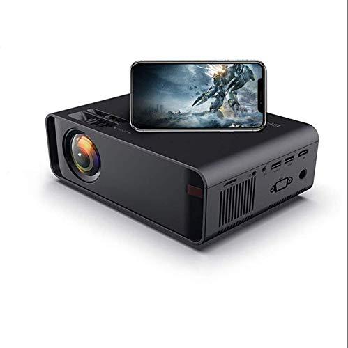 SOTEFE Mini LED Proiettore Portatile 6000 Lumens-WiFi Proiettore Supporto 1080P Full HD Video Multimedia per Smartphone iPhone/Samsung/Sony/Hauwei/Compatibile con HDMI/USB/Carta SD/VGA/AV/TV Box/PS4