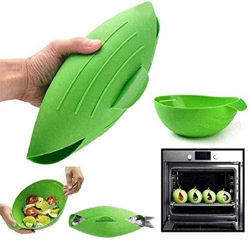 Faltbare Allzweck-Silikon-Kochtasche, wiederverwendbare MTDH-Brotbackform, Hochtemperaturbeständigkeit zum Kochen von Lebensmitteln (1set)