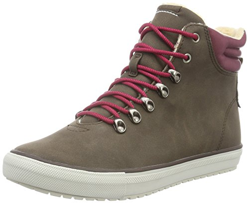 ESPRIT dames Mika Bootie High-Top, bruin (210 Brown), 38 EU