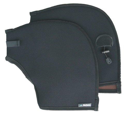マルト(MARUTO) 防寒ハンドルカバー フラットハンドル専用 FNP-3600 ブラック