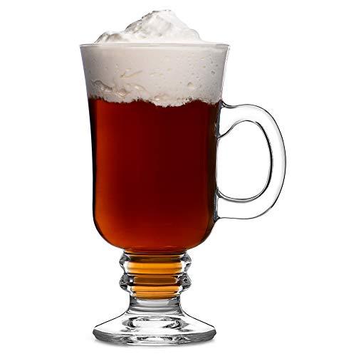 Bar drinkstuff bicchieri ideali per servire il latte macchiato, caffè, cioccolata calda e molto altro ancora, set da 4