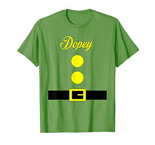 Dopey Dwarf Halloween Costume Grass T-Shirt T-Shirt
