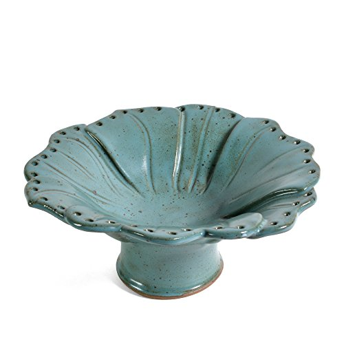 Anthony Stoneware Earring Bowl, Teal