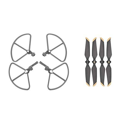 JRUIAN / Apto para Mavic Air 2 Drone Propeller Guard con Tren de Aterrizaje Elevado/Apto para dji/Apto para Mavic Air 2 Drone Blade Protector Accesorio de Cubierta Protectora (Color: Booster Set)