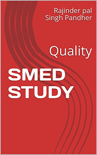 SMED STUDY: Quality (English Edition)