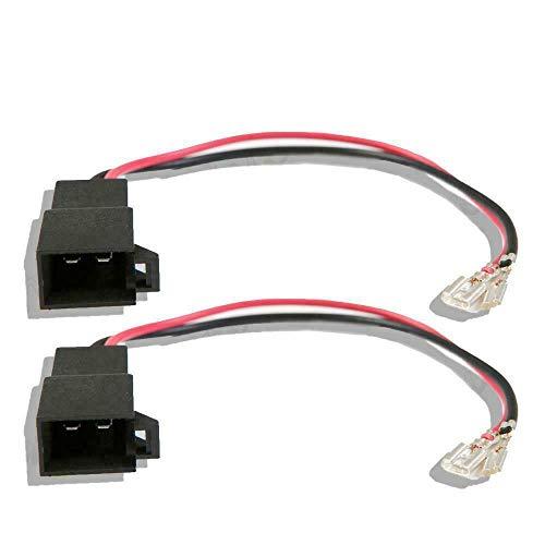 Inex pour Volkswagen Lupo Haut Parleur Adaptateur Câble Prise Câble Connecteur