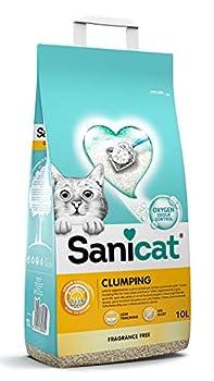 Sanicat Litière agglomérante Chat Sable – 10 l