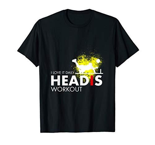 Headis Workout Sport Ball lustiges Tennis Spieler Geschenk T-Shirt