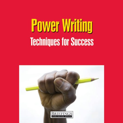 Power Writing audiobook cover art