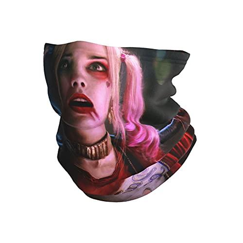 best& Harley Quinn al aire libre microfibra cuello polaina caliente viento cara mas-k bufanda pasamontañas