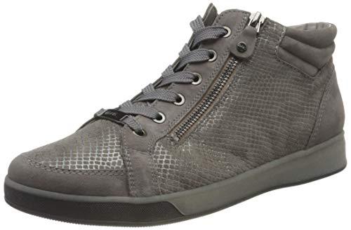 ARA Damen ROM Sneaker, Marineblau, silberfarben, 40 EU