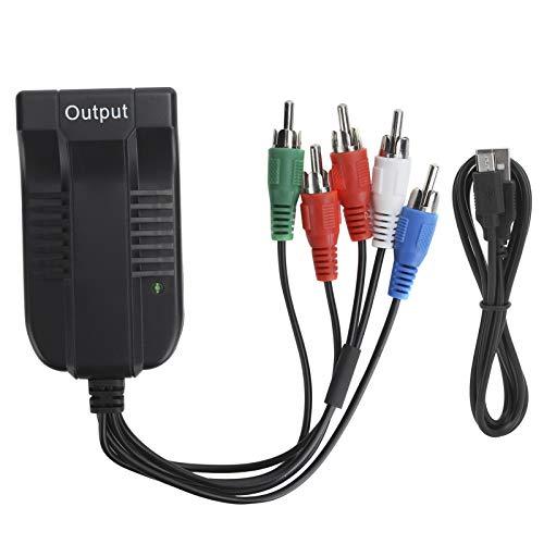 PUSOKEI Convertidor de HDMI a componente 1080P, Adaptador de Cable HDMI a...