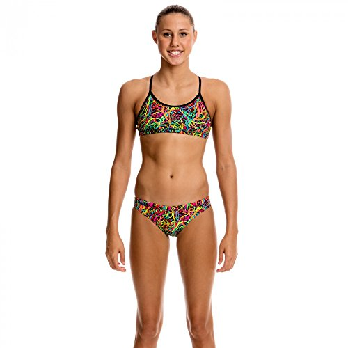 Funkita Mädchen Bikini Pulmonary Party Two Piece, Kinder Größen:140