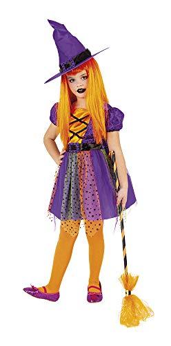 Rubies Disfraz Bruja Superstar Purpy Inf, Multicolor, M para Niñas