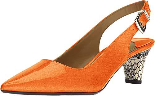 J. Renee Mayetta Orange 8 M (B)