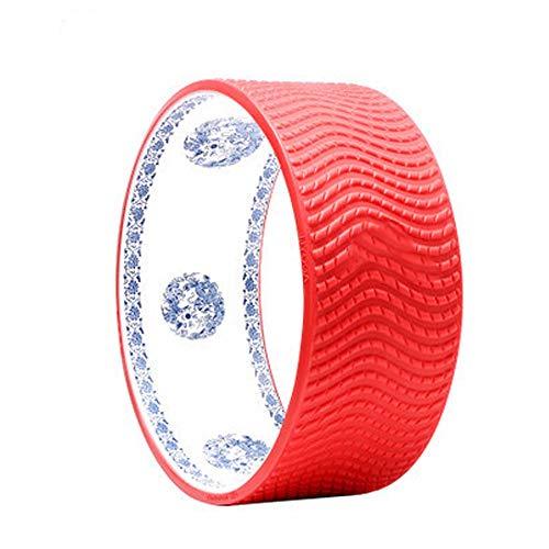 Xiao Jian yoga-fiets voor beginners, buigings-artefakt-open rug met kachelpijp siliconendeeltjes, yoga-cirkel