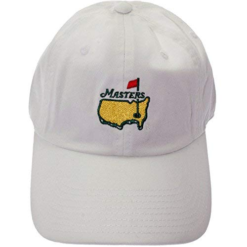 b5c2c48ba26 Amazon.com  Masters 2018 Caddy Slouch Hat - White Official Augusta ...