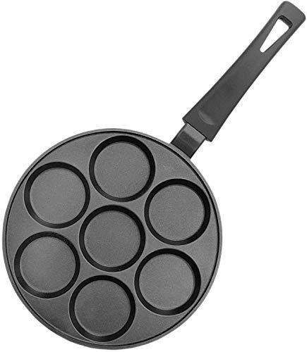 Pancakes Bratpfanne, 2-fache Greblon Antihaftbeschichtung aus Deutschland Pfannkuchen Spiegeleier Oladji Eierkuchen Eiertätsch Quarkkäulchen Syrniki 𝗡𝗜𝗖𝗛𝗧 𝗜𝗡𝗗𝗨𝗞𝗧𝗜𝗢𝗡𝗦𝗚𝗘𝗘𝗜𝗚𝗡𝗘𝗧