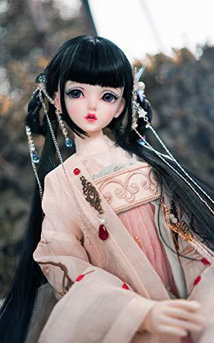 Bjd SD Puppe Haar Chinesischer Antiker Stil Handgemachte Perücke Für Puppe DIY Liefert,B,HC8~9inch
