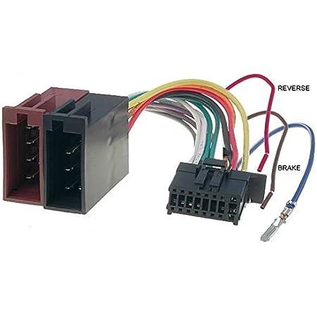 Cable Adapter Kabelbaum Iso Für Pioneer 16 Pin Elektronik