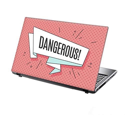 15,6 inch laptop sticker apocalypse paard