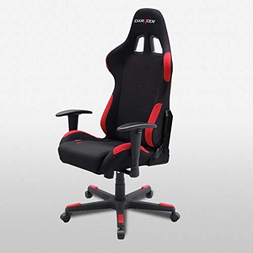 DXRacer Formula Series - Silla de Oficina ejecutiva/Juegos, Color Negro y Roj