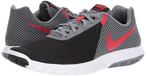 Nike Mens Flex Experience RN 6 Running Shoe (Black/University Red/Cool Red, 10.5 M US)