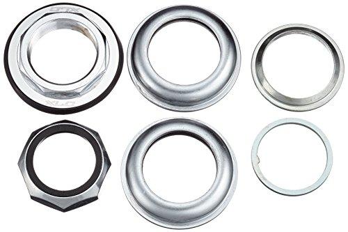 XLC Unisex– Erwachsene Zubehör Steuersatz Semi-integriert HS-I04 1 1/8 Zoll, Silber, One Size