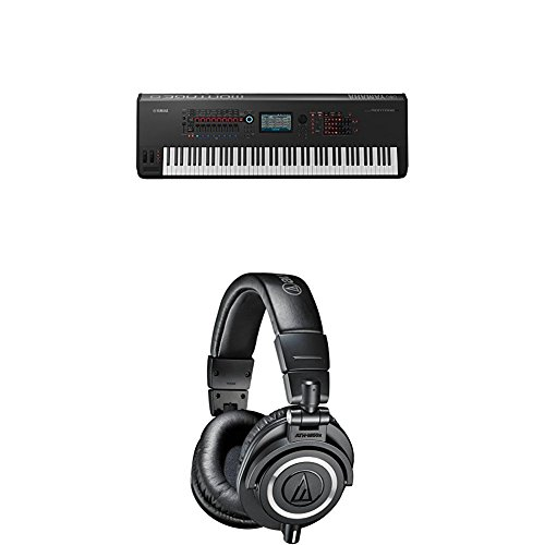 Fantastic Prices! Yamaha Montage8 Synthesizer Workstation and M50x Professional Monitor Headphones, ...