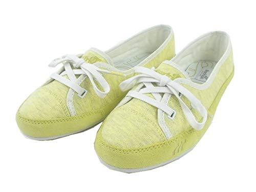 Boxfresh Ballerinas Schuhe Erin Sweat GELB Leder Textil BFU0002 - Erin Sweat (40)