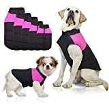 SunteeLong Dog Jackets Dog Clod Weather Coat Waterproof Windproof Warm Dog Vest Cold Weather Pet Apparel for Small Medium Large Dogs Pink L
