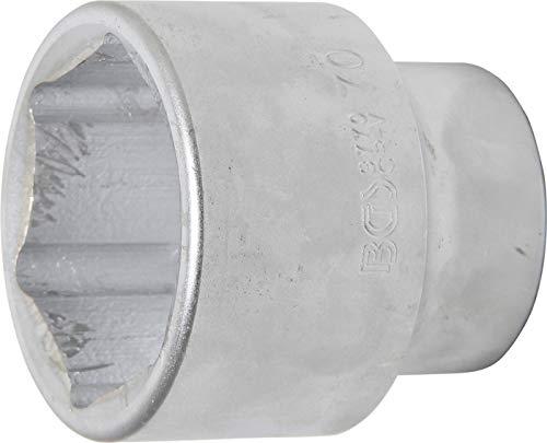 BGS 3770 | Steckschlüssel-Einsatz Sechskant | 25 mm (1') | SW 70 mm