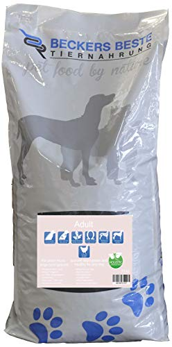 Beckers Beste - Trockenfutter Hund Adult mit Geflügel 15kg- Junghund, Adult & Senior - Hundefutter große und kleine Hunde-Rassen