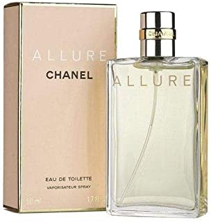 Chânél Allure Eau De Toilette Spray for Women 1.7 Fl. OZ. / 50ML.