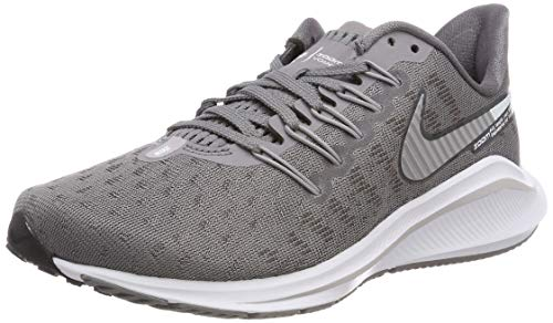 Nike Damen WMNS Air Zoom Vomero 14 Laufschuhe, Grau (Gunsmokesea/Atmosphere Grey/Oil Grey/White 001), 42.5 EU