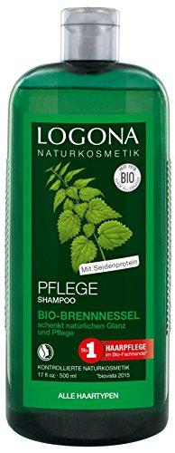 Logona Bio Pflege Shampoo Brennessel (2 x 500 ml)