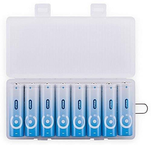 (PACCHETTO DI 8) Batterie al litio ad alta potenza AA Nice Power 3000mah 1,5V non ricaricabile Capacità Fotocamera digitale per batteria da gioco Xbox Stilo Pile